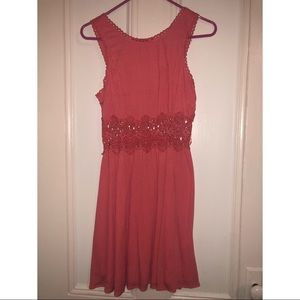 NWT Floral Lace Dress